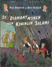 Piet Pienter en Bert Bibber - De diamantmijnen van Koningin Salami (Mobile)